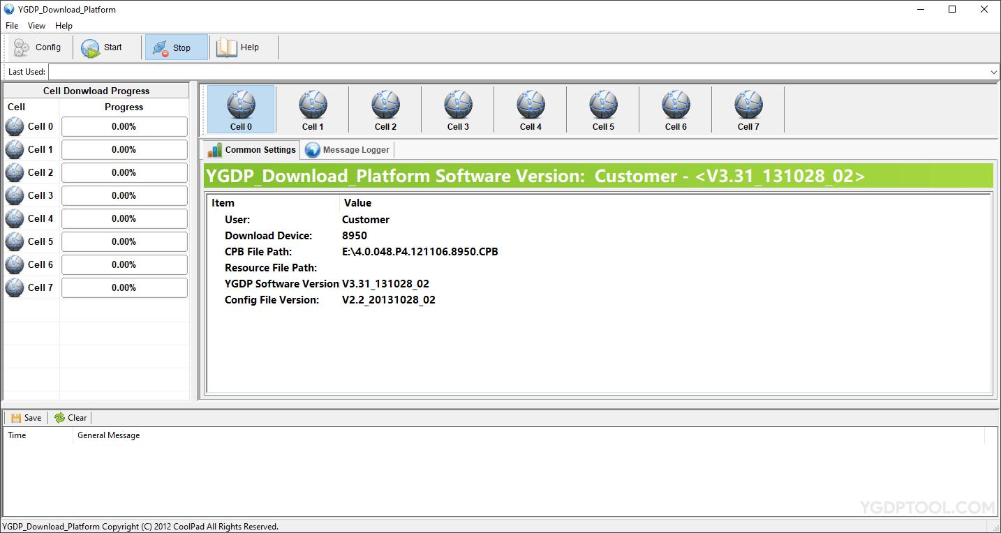 YGDP Tool V3.31