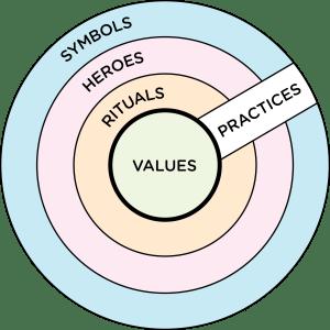 A visual of the actual cultural model