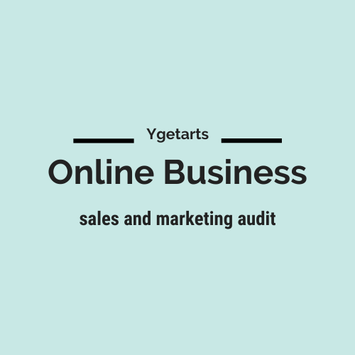 Online business sales and marketing audit