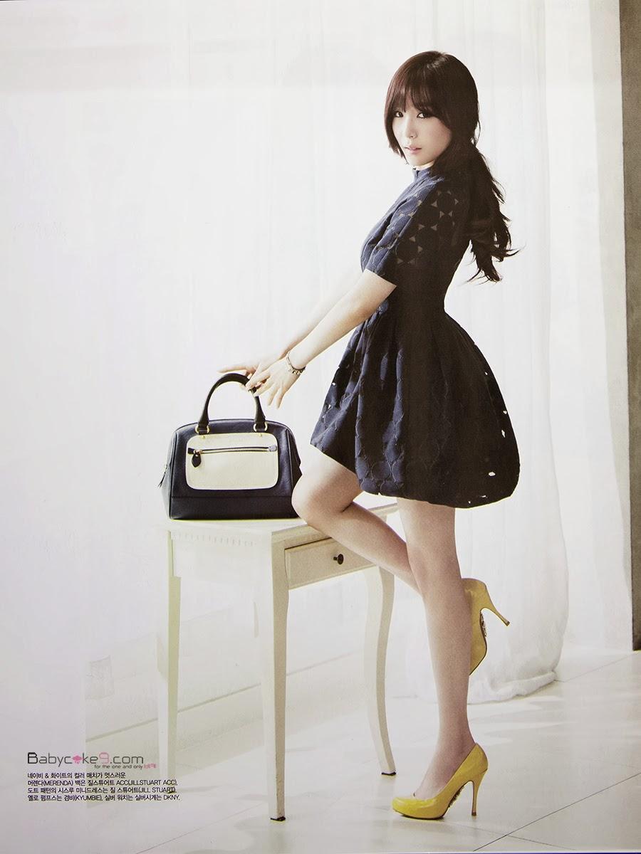 Girl Generation 2014 Wallpaper Tiffany Girls Generation Vogue Girls Magazine Edisi