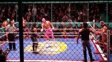 Mexican wrestling in Puebla