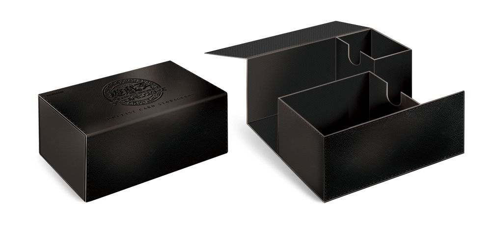Yu-Gi-Oh! Official Card Game Duel Monsters Duelist Card Storage Box DX Black Leather  sc 1 st  YGOrganization & The Organization | [OCG] Black Leather Storage Box
