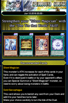 The Organization | [Duel Links] Structure Deck EX: Spellbound Silence