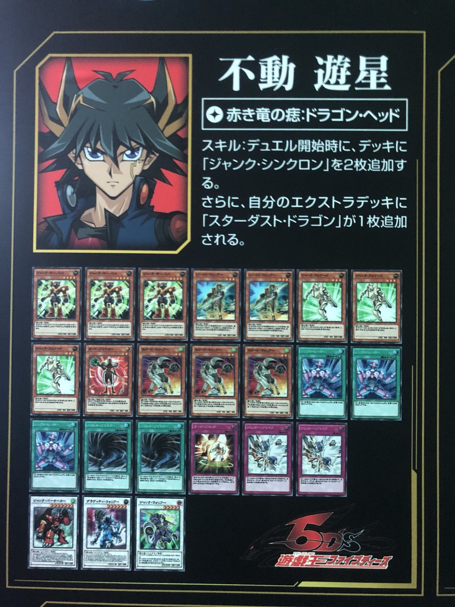 The Organization | [Duel Links] Sample 5D's Decks from Tokyo Game