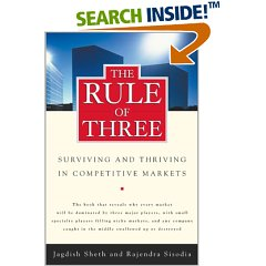 The Rule of Three by Sheth and Sisodia