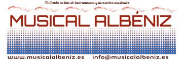 Logotipo Musical Albeniz Asturias