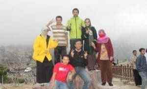 Liburan di Gunung Tangkuban Perahu