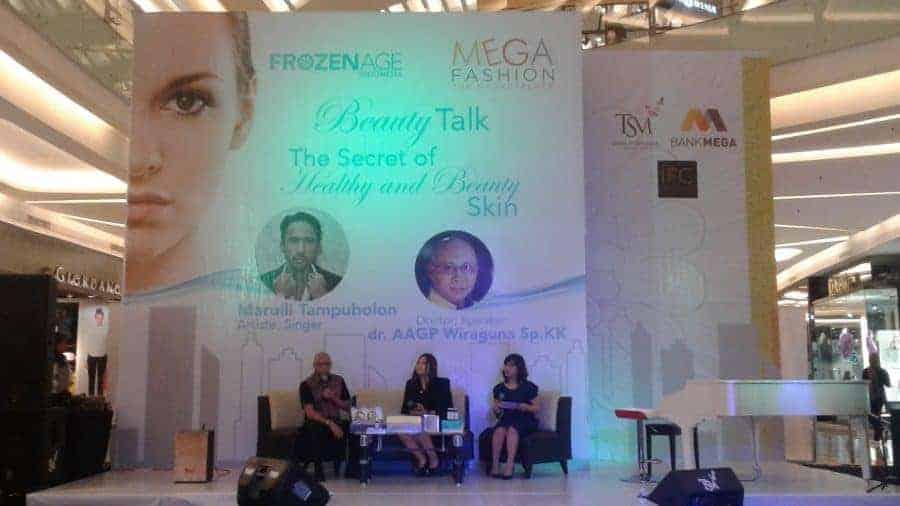 Beauty Talk The Secret of Healthy and Beauty Skin bersama Frozen Age