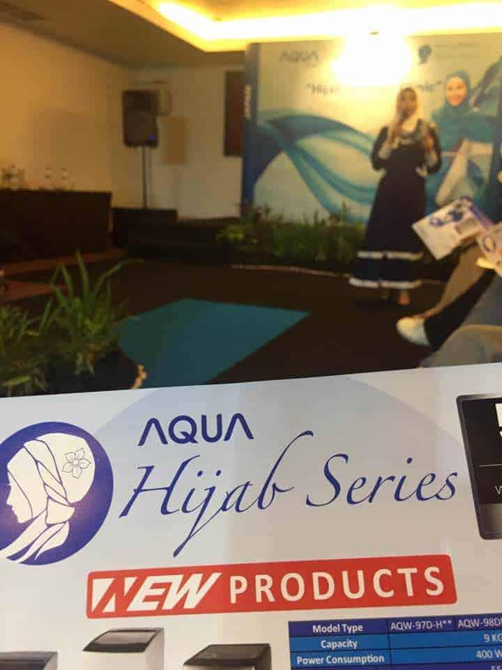Talkshow Hijab Fashion Clinic, Mesin Cuci untuk Hijab