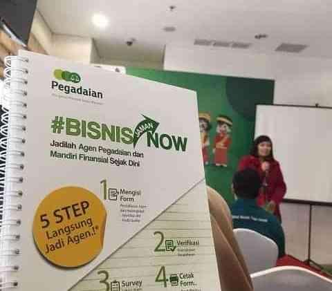 Bisnis Jaman Now, Jadilah Agen Pegadaian dan Mandiri Finansial