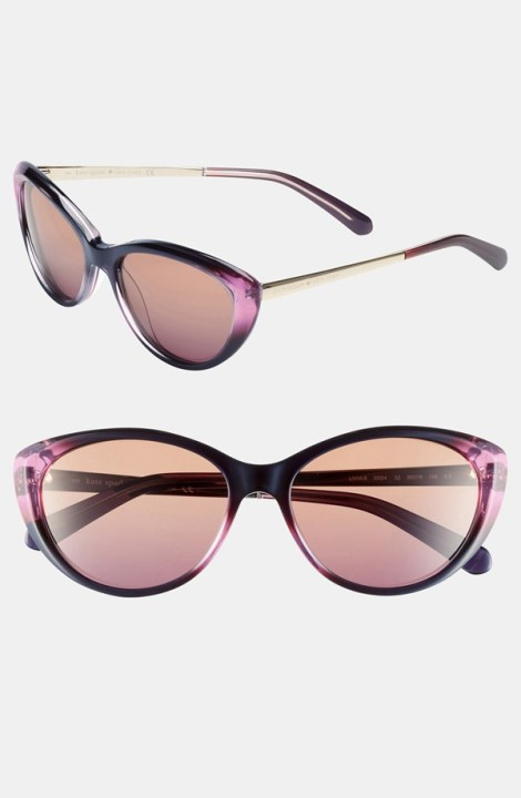 'livia' 55mm sunglasses, $158.00