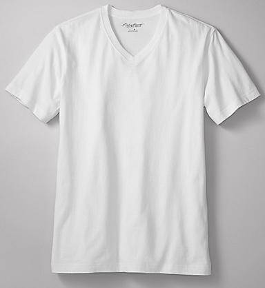 Classic Fit Legend Wash V-Neck T-Shirt, $19.95