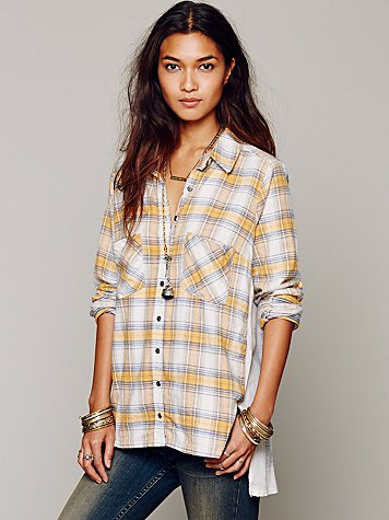 Behind the Flannel Buttondown, $128.00