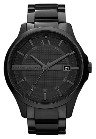 AlX Watch, Men's Black Ion Plated Stainless Steel Bracelet, $180.00
