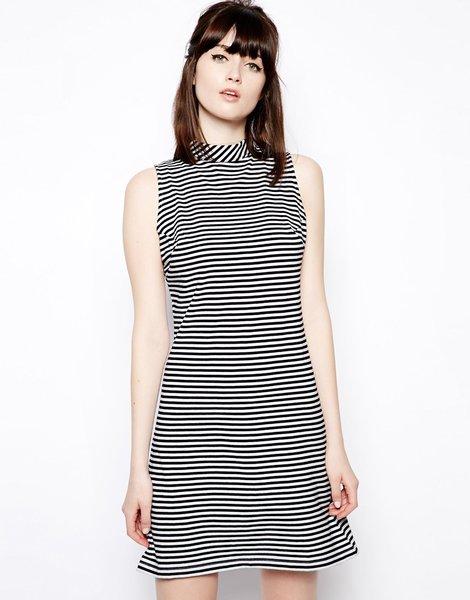 $41.39 Pop Boutique Sleeveless Swing Dress, Asos
