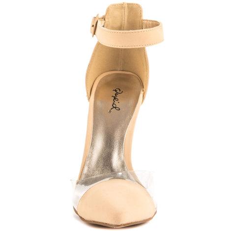 $49.99, Megan Nude NuBack Qupids, Heels.com
