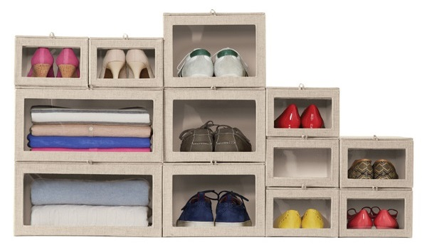 The Container Store: Linen Drop-Front Box, $24.99