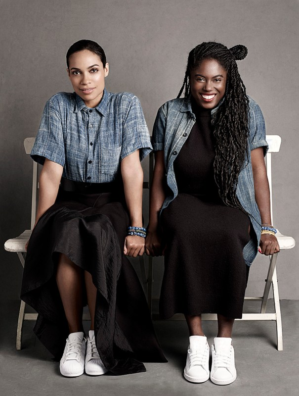 Rosario Dawson and Abrima Erwiah, co-founders of Studio 189
