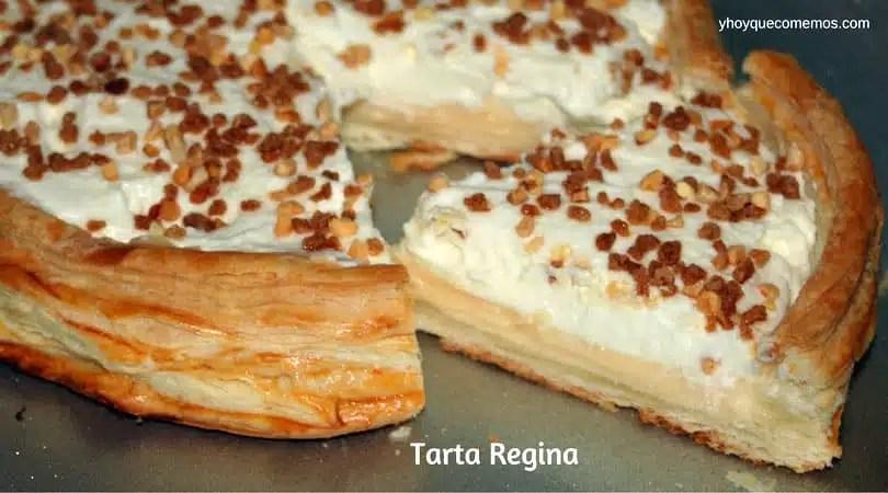 Tarta Regina  Recetas y Postres  Y hoy que comemos