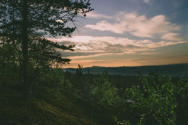 Pyhä-Luoston kansallispuisto –  Noitatunturin valloitus
