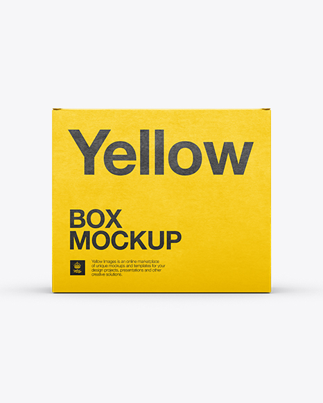 Download Cardboard Display Box Psd Mockup Yellowimages