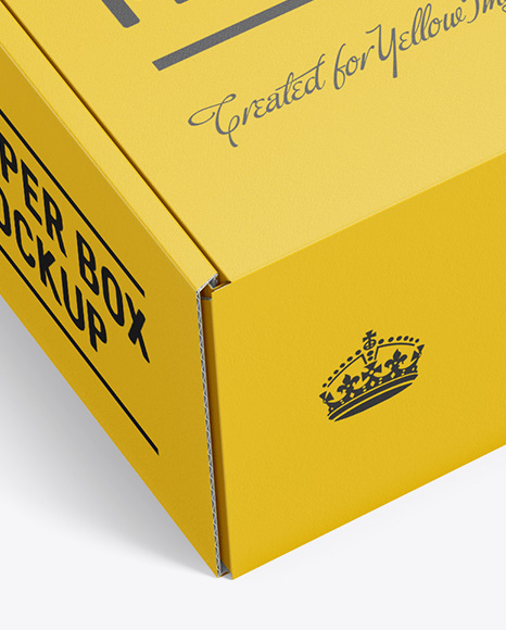 Download Matte Boxes Psd Mockup Yellowimages