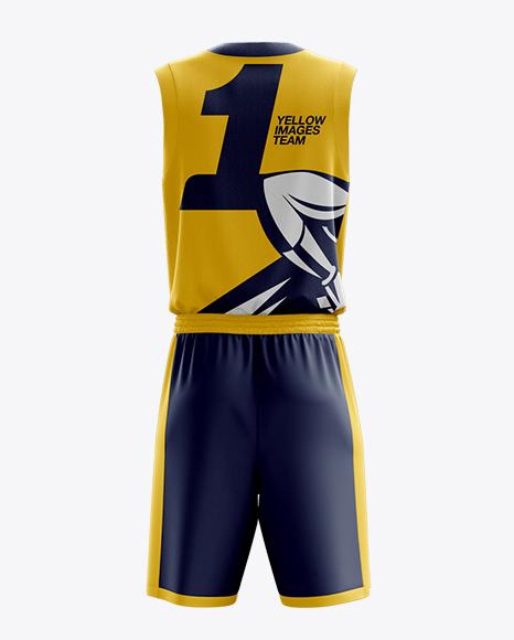 Download Basketball Jersey Mockup Template