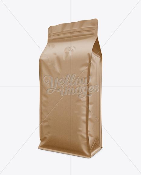 Download Kraft Paper Coffee Bag Psd Mockup Yellowimages