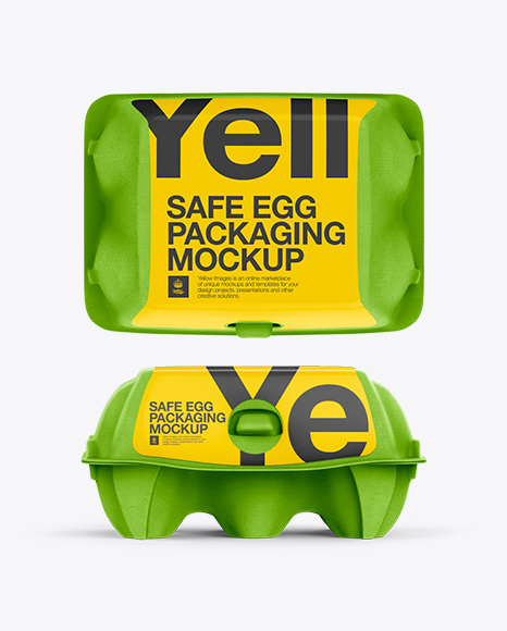 Download 12 Eggs Carton Safe Pack Mockup Top Front Back Views Yellowimages