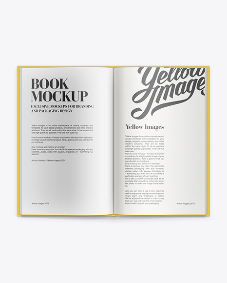 Download Open Magazine Mockup Free Psd Yellowimages