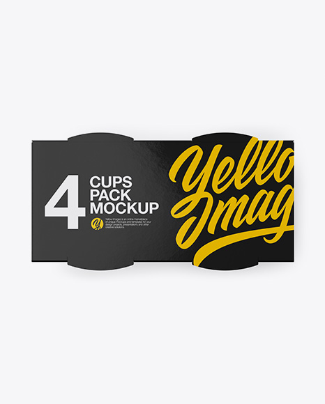 Download Jelly Cup Psd Mockup Yellowimages