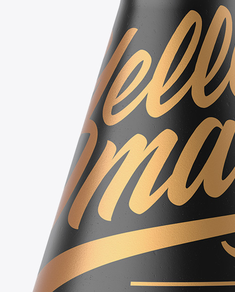 Download Textured Ceramic Bottle With Wax Psd Mockup Yellow Images
