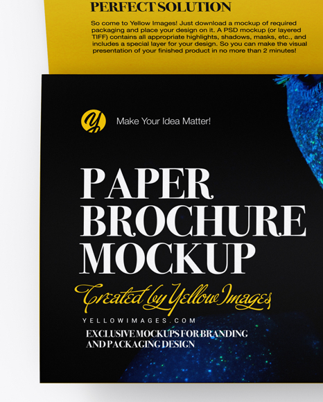 Download Download Mockup Flyer Psd Yellowimages
