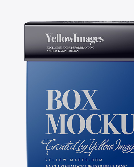 Download Box Mockup Square Yellowimages