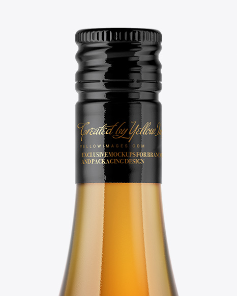Download Frosted Glass Cognac Bottle Psd Mockup Yellowimages