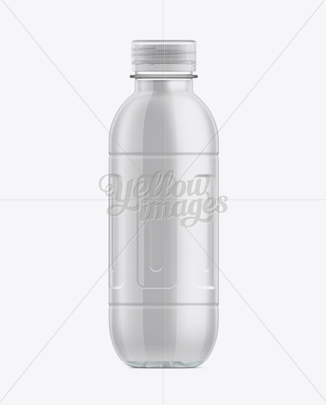 Download 500ml Pet Water Bottle Psd Mockup Yellow Images