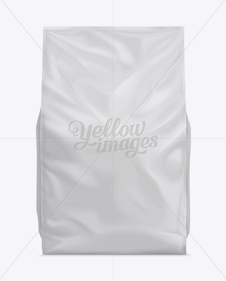 Free for personal and commercial use. 46lb Cat Litter Bag Mock Up Front View In Bag Sack Mockups On Yellow Images Object Mockups