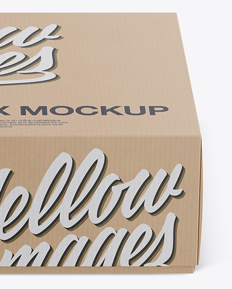 Download Square Textured Box Psd Mockup Front View Yellowimages