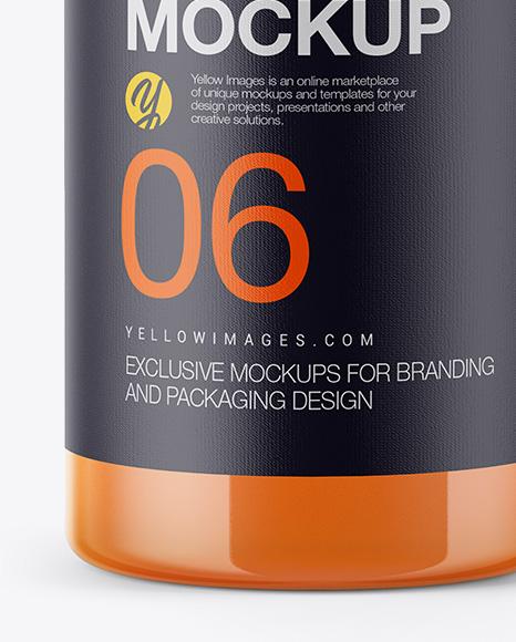 Download Juice Bottle Mockup Vector Yellowimages