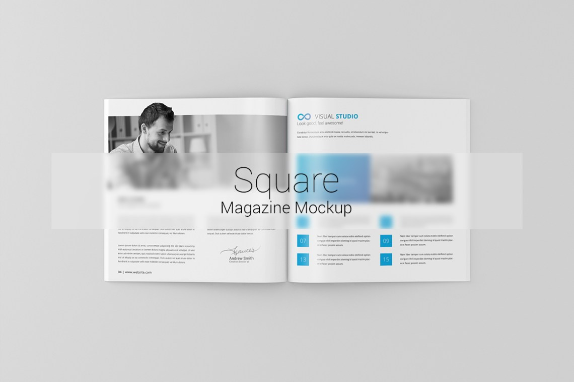 Download Square Flyer Mockup Free Yellowimages