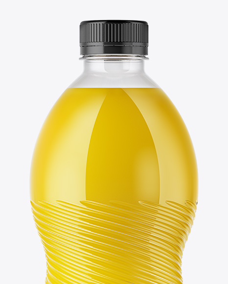 Download Square Plastic Bottle Psd Mockup Yellowimages