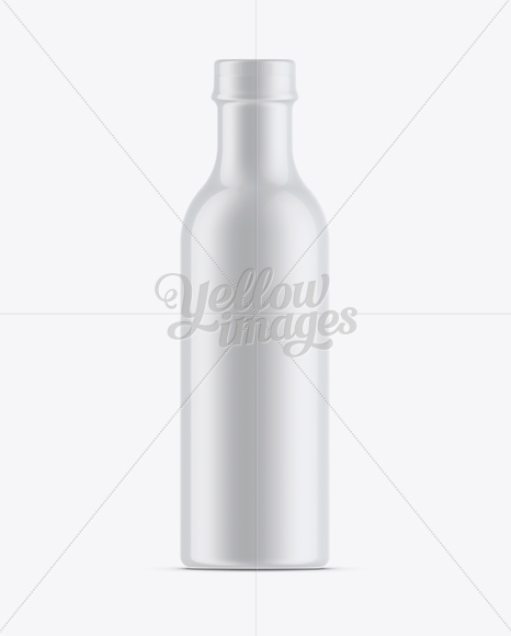 Download Glass Spray Bottle With Shrink Sleeve Psd Mockup Yellowimages