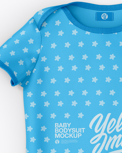 Download Baby Bodysuit Mockup Free Yellowimages