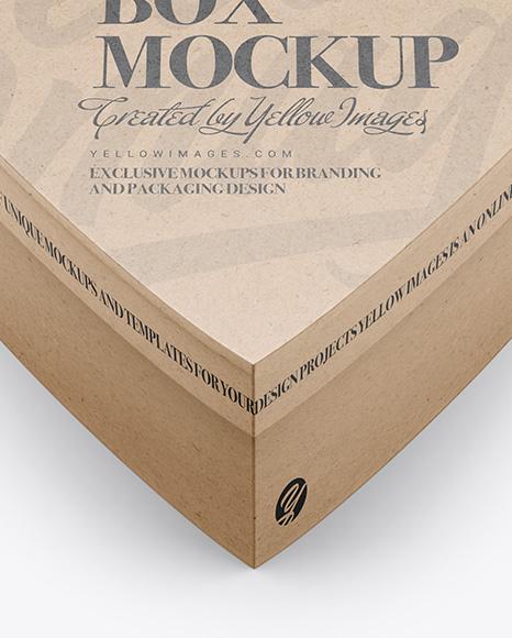 Download Box Wood Mockup Yellow Images