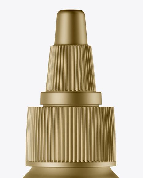 Download Metallic Dropper Bottle Matte Box Psd Mockup Yellowimages