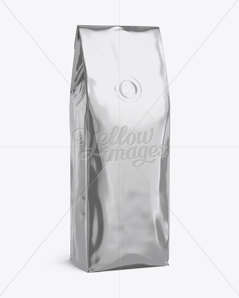 Download Metallic Food Pouch Psd Mockup Yellowimages