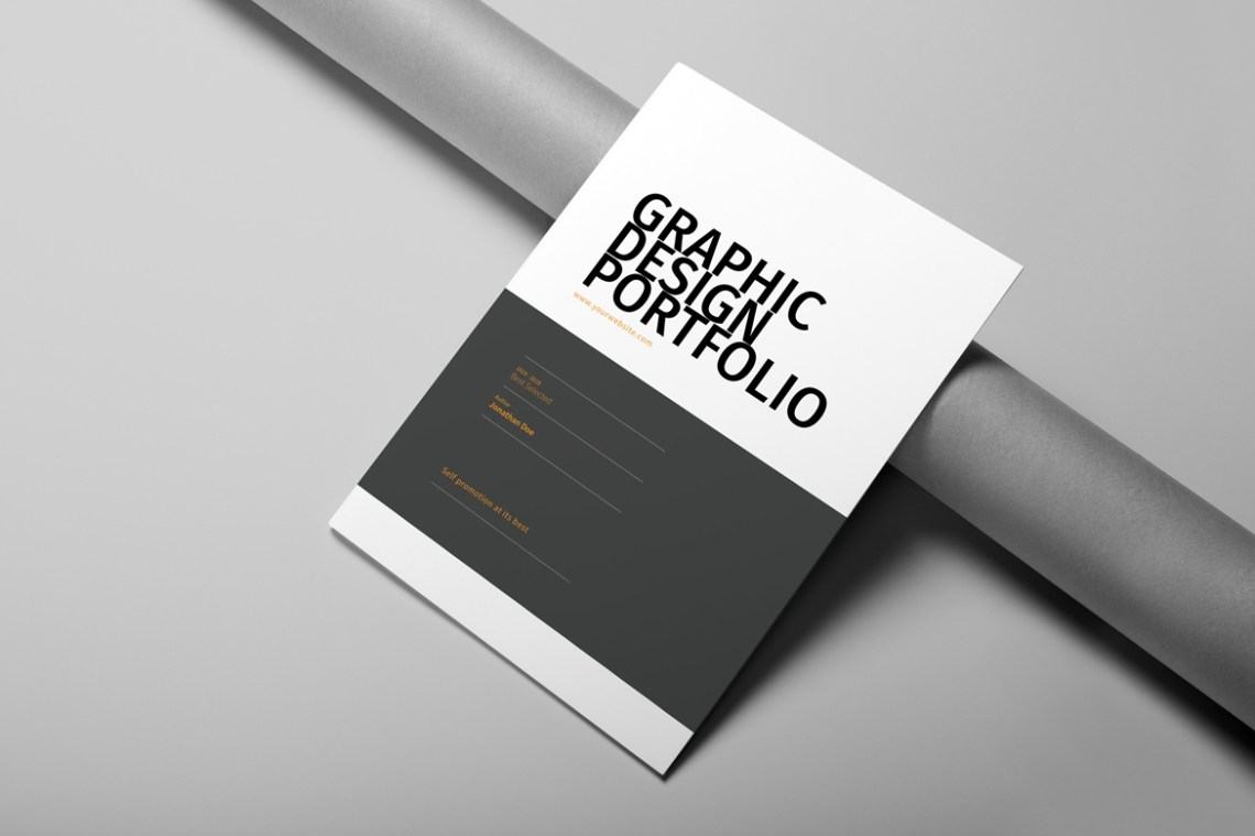 Download Graphic Designer Portfolio Mockup Yellowimages