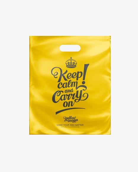 Download Bag Plastic Mockup Free Yellowimages
