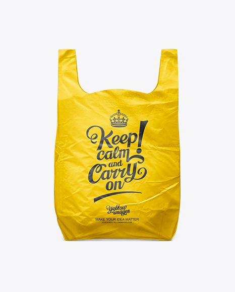 Flowers tote bag mockup template. White Plastic Carrier Bag In Bag Sack Mockups On Yellow Images Object Mockups