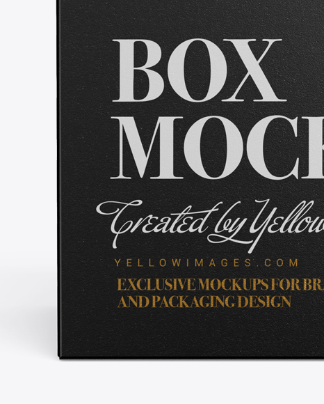 Download Free Cup With Box Packaging Mockup Yellowimages